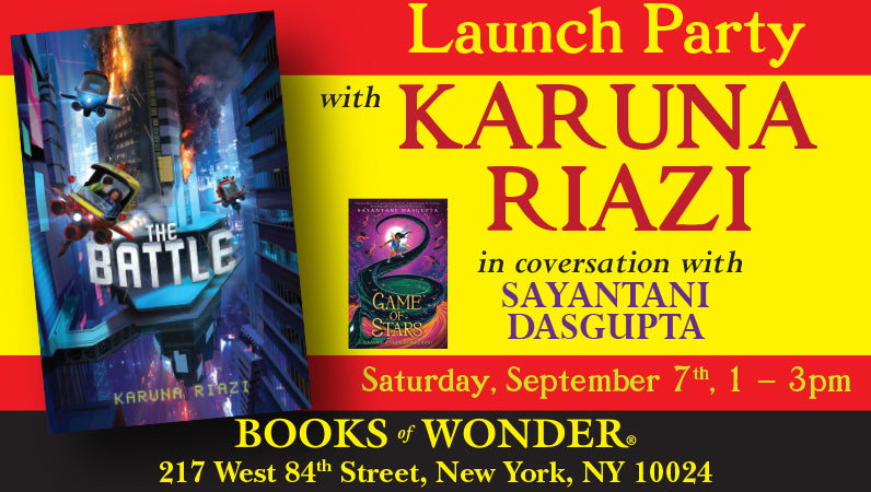 LAUNCH PARTY with Karuna Riazi for The Battle