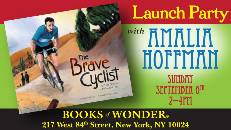 Launch Party for The Brave Cyclist by Amalia Hoffman