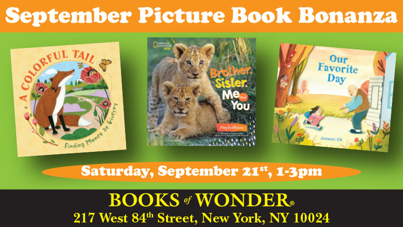 September Picture Book Bonanza Uptown
