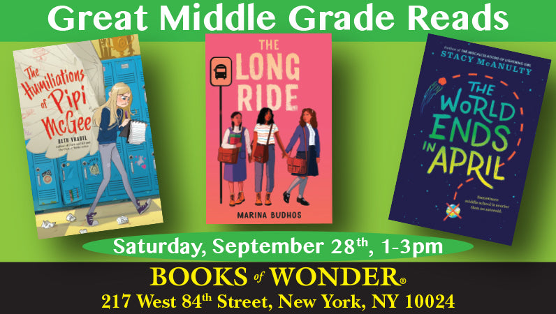 Great Middle Grade Reads - Sept. 28