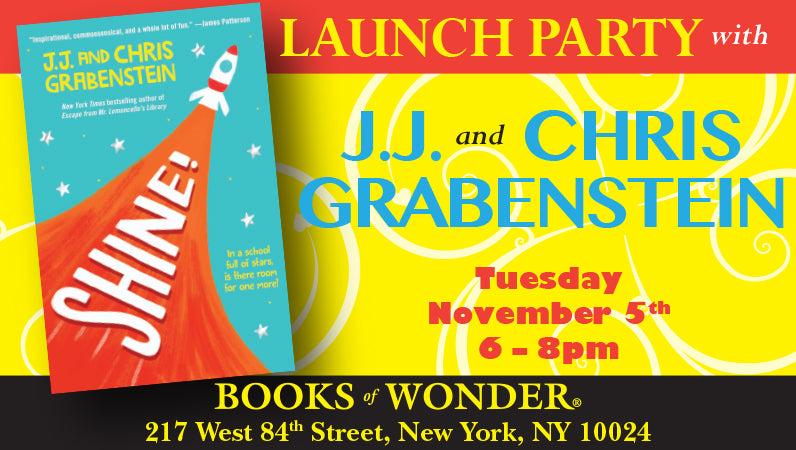Launch Party with J.J. and Chris Grabenstein for Shine