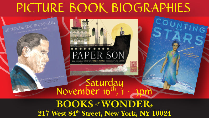 November Picture Book Biographies Uptown