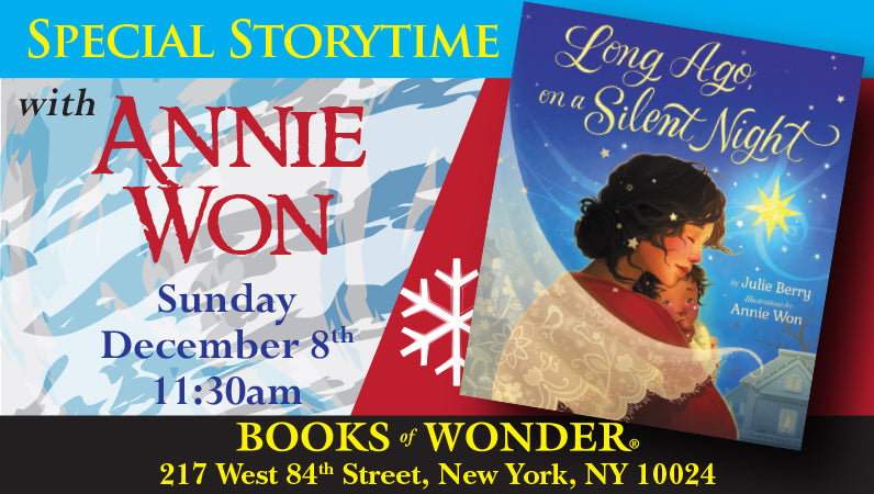 Special Storytime with Annie Won for Long Ago on a Silent Night