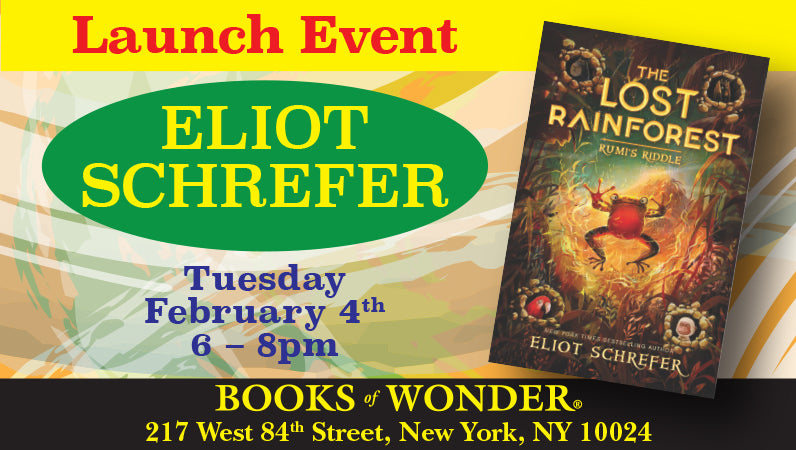 Launch Event for Rumi's Riddle by Eliot Schrefer