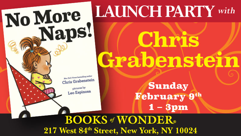 Launch Party for No More Naps for Chris Grabenstein