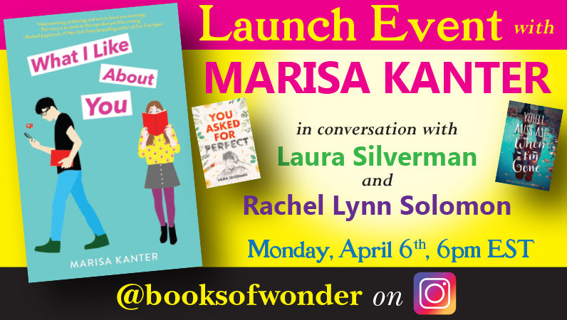 Launch Event for What I Like About You by Marisa Kanter
