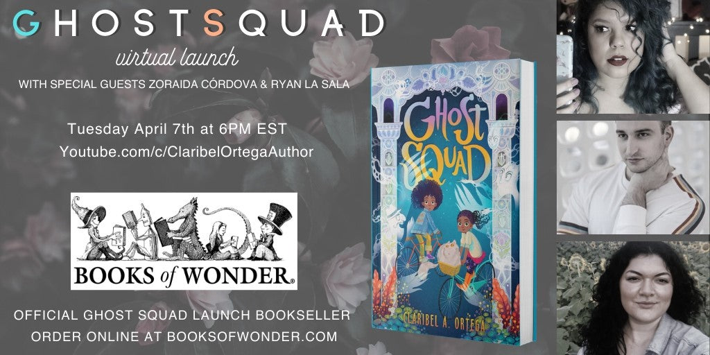 Virtual Launch: Ghost Squad by Claribel Ortega