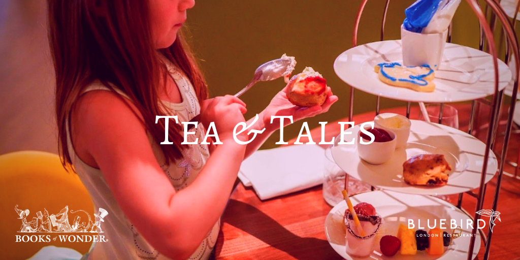 Tea and Tales at BLUEBIRD LONDON NYC with Kamilla Benko