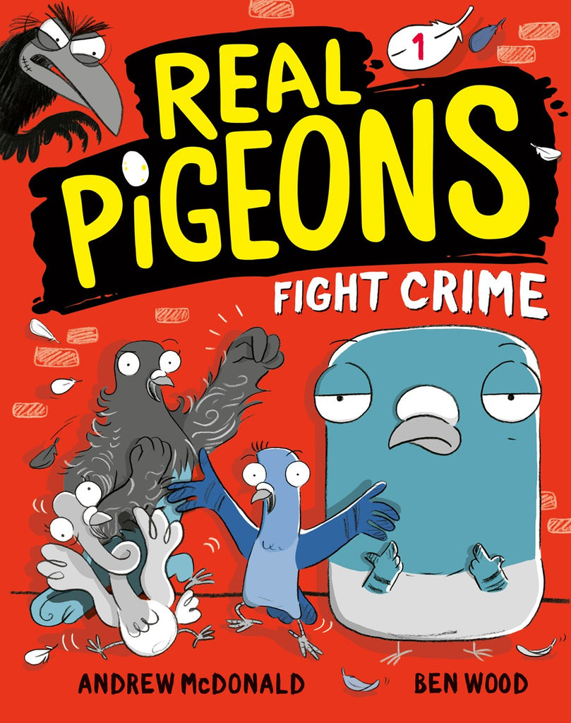 Real Pigeons Fight Crime (Parkside Book Fair)