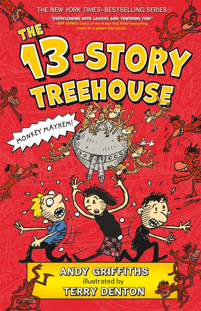 13-Story Treehouse (Parkside Book Fair)