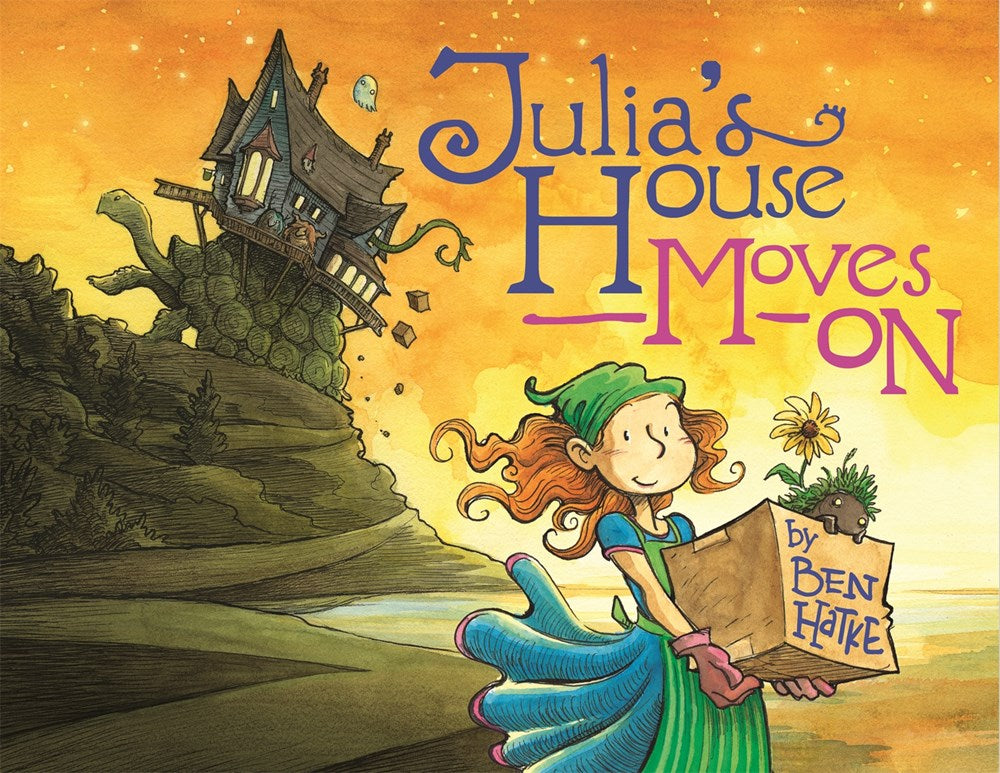 Julia's House Moves On (Parkside Library)