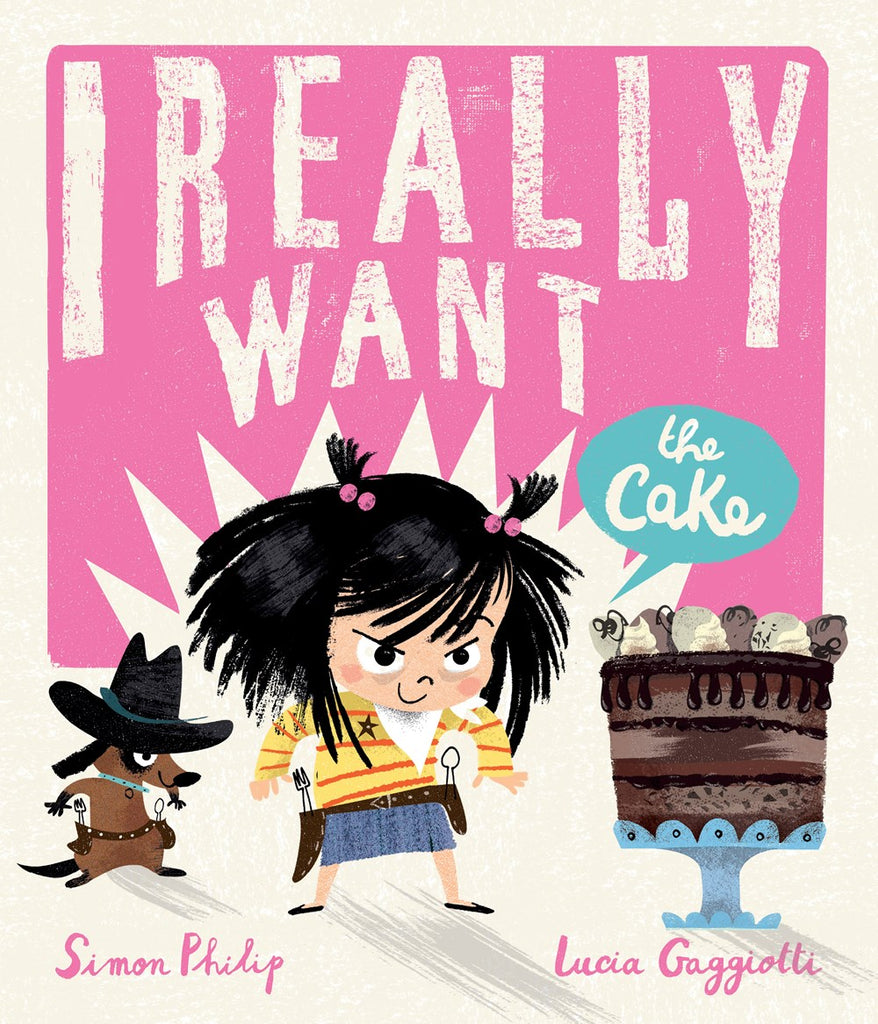 I Really Want the Cake (Parkside Book Fair)