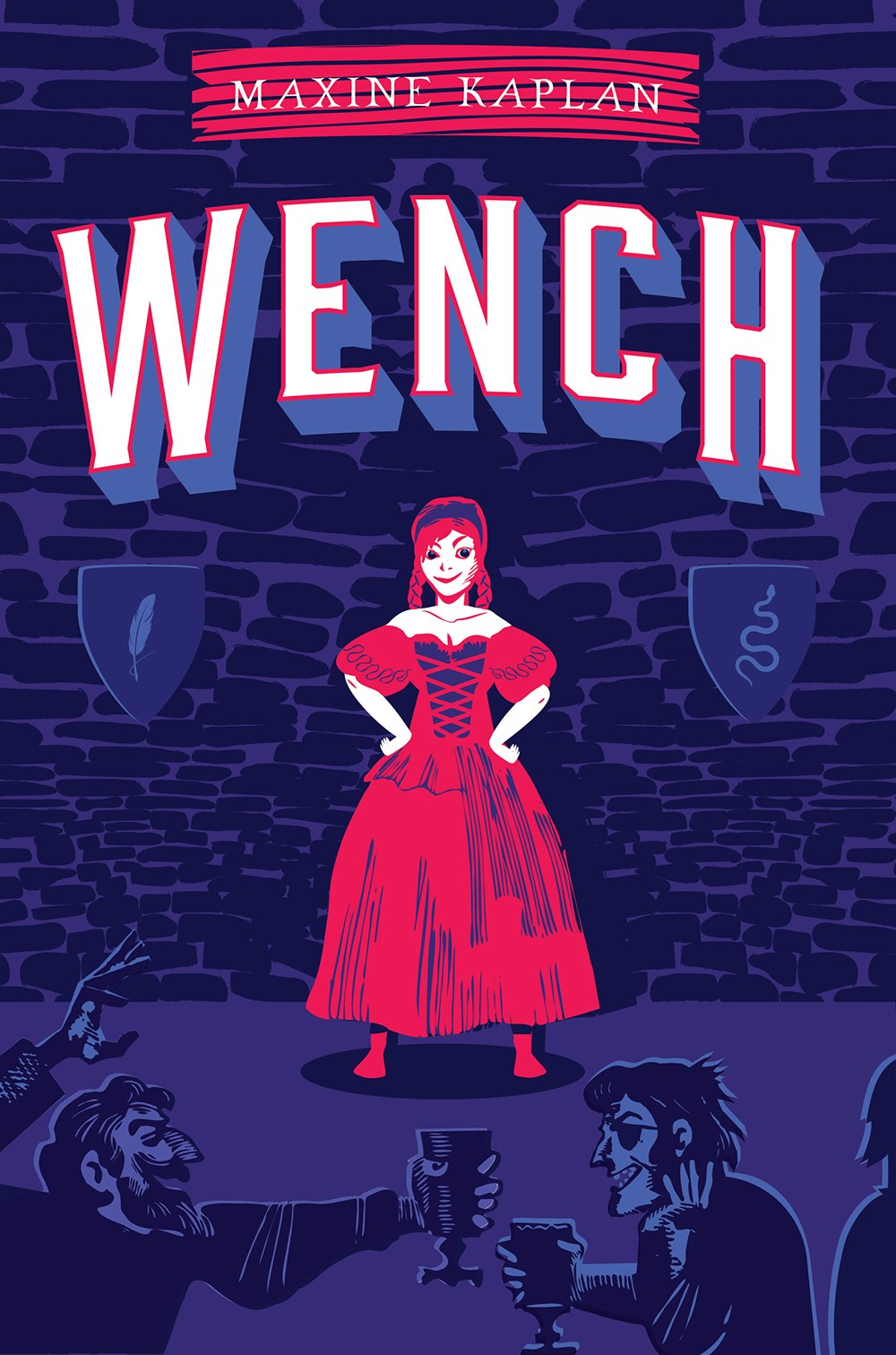 Wench Takes It All In