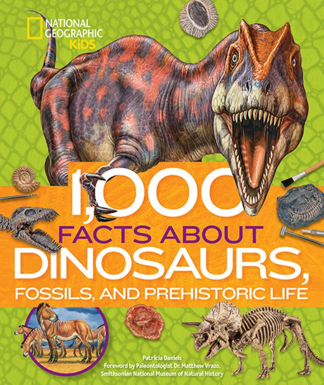 1,000 Facts About Dinosaurs, Fossils, and Prehistoric Life (Parkside Class 4-1)