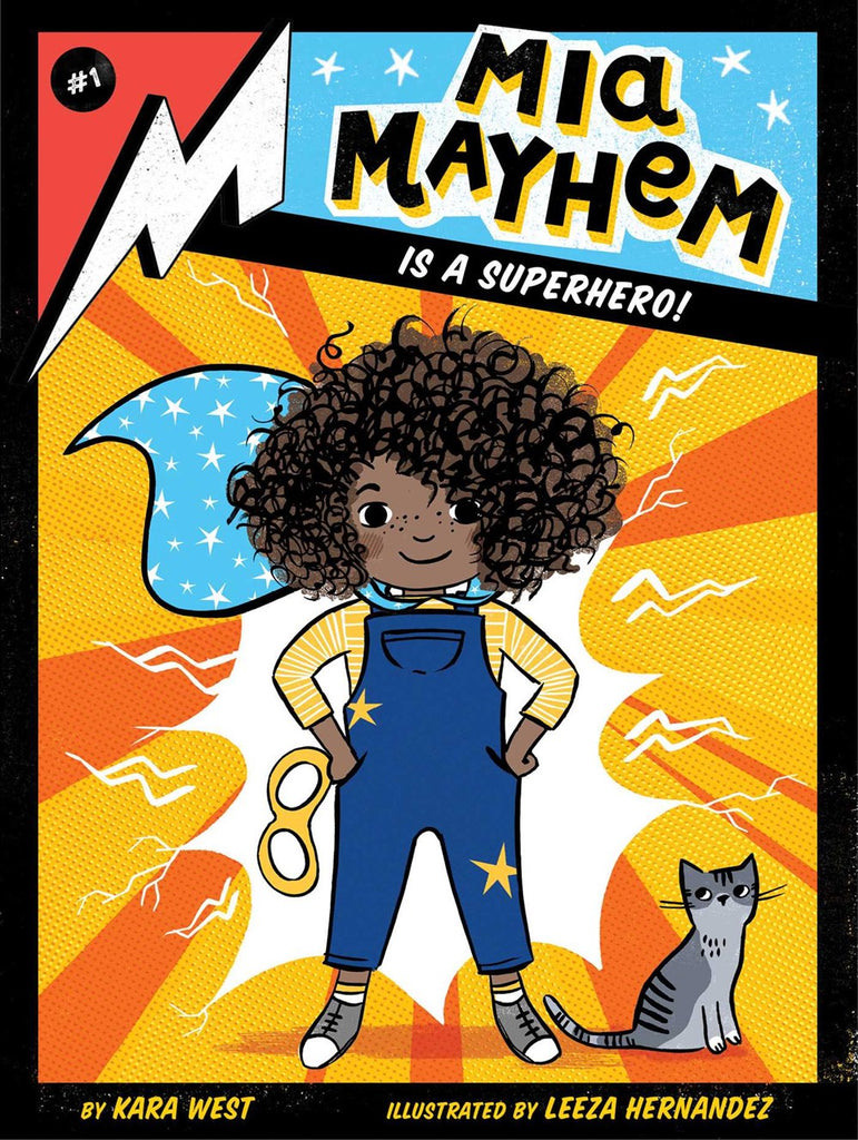 Mia Mayhem Is a Superhero (Parkside Book Fair)