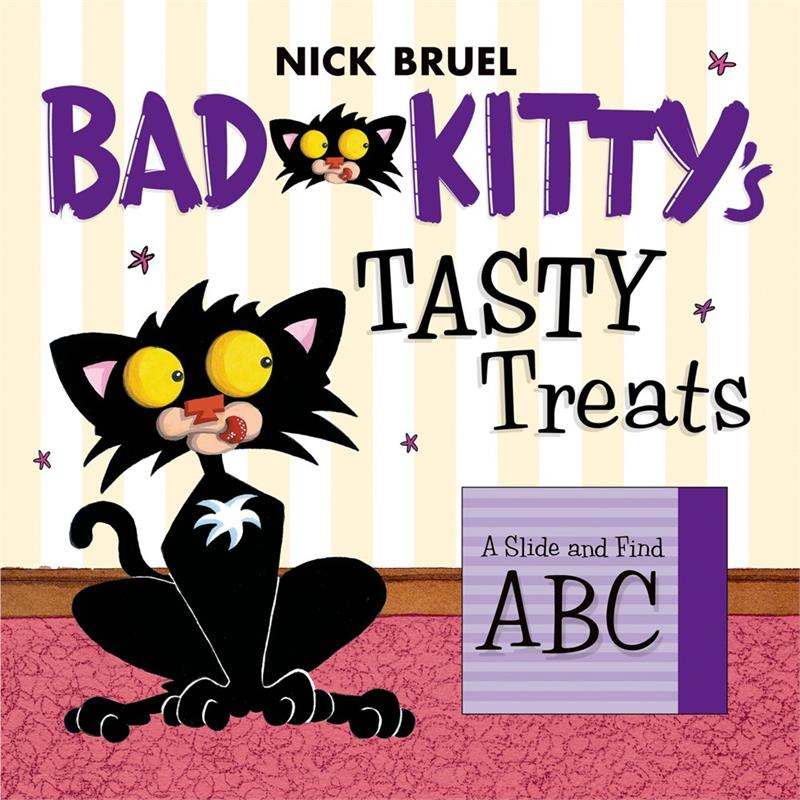 Bad Kitty's Tasty Treats: A Slide and Find ABC
