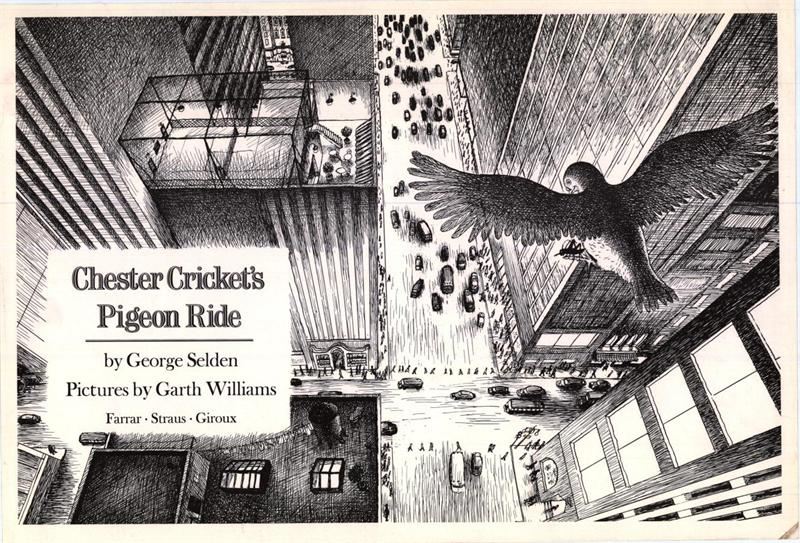 Chester Cricket's Pigeon Ride – Books of Wonder