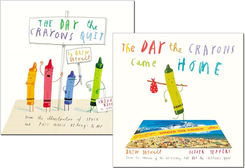 Day the Crayons Quit & Came Home Set