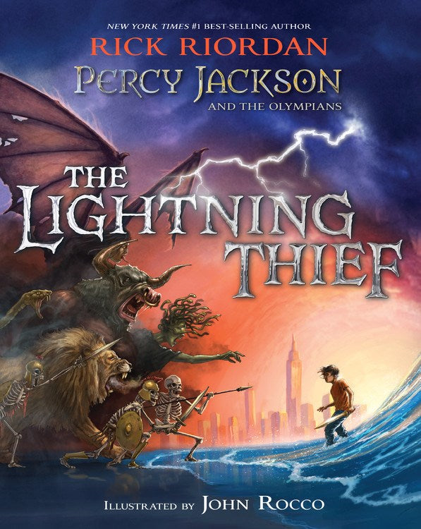 Percy Jackson and the Olympians: The Lightning Thief Illustrated Edition*
