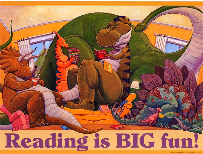 Reading is Big Fun