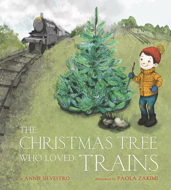 Christmas Tree Who Loved Trains