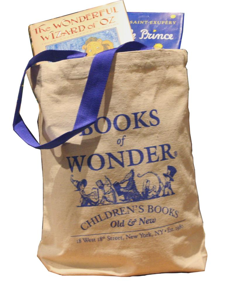 Books of Wonder Blue Canvas Tote Bag*