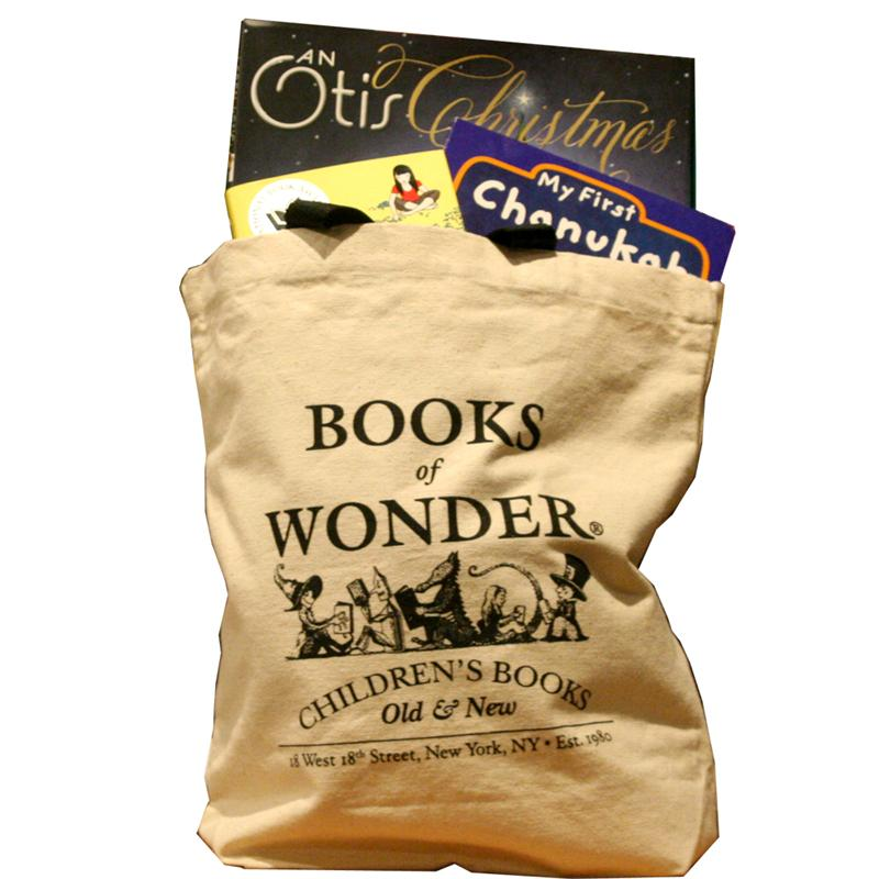Books of Wonder Black Canvas Tote Bag*