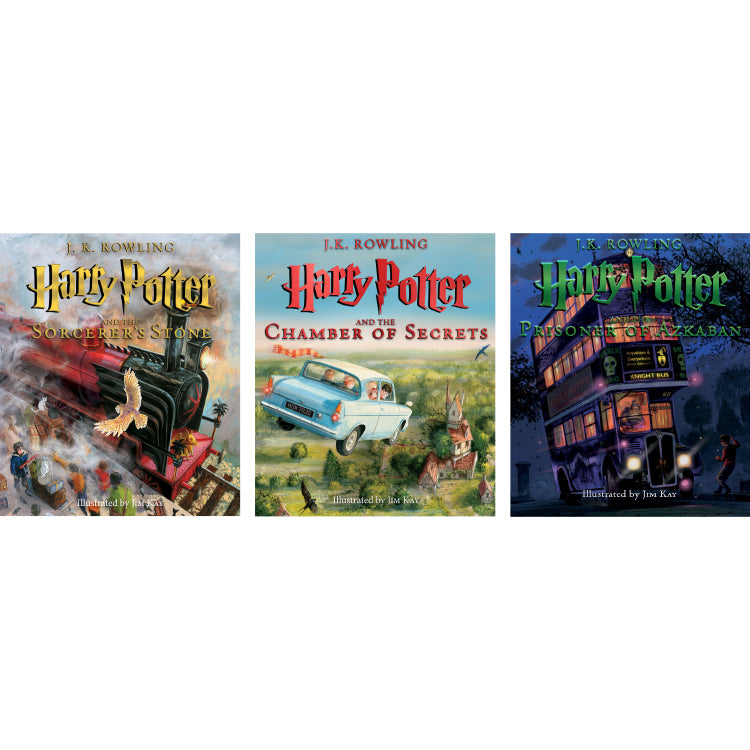 Harry Potter Illustrated Editions Set