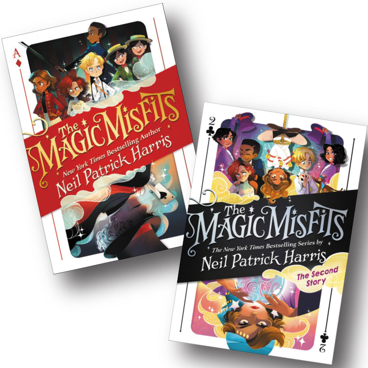 Magic Misfits Book Set