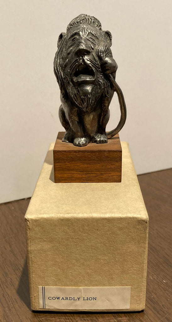 Cowardly Lion Pewter Figurine