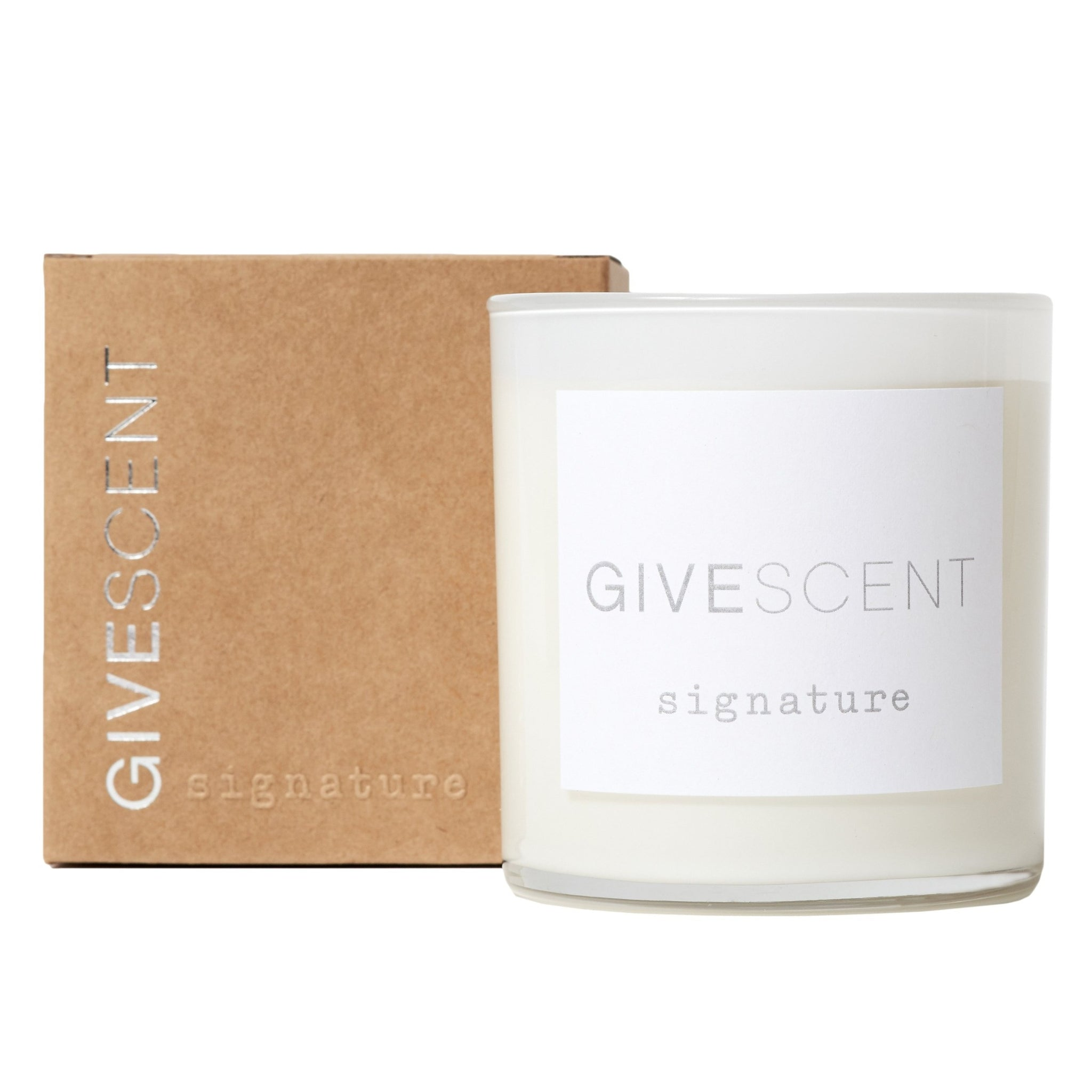 GIVESCENT signature candle