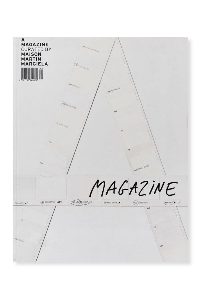 A Magazine Curated by Maison Martin Margiela (2004) Limited Edition Re-Print - COMING SOON!