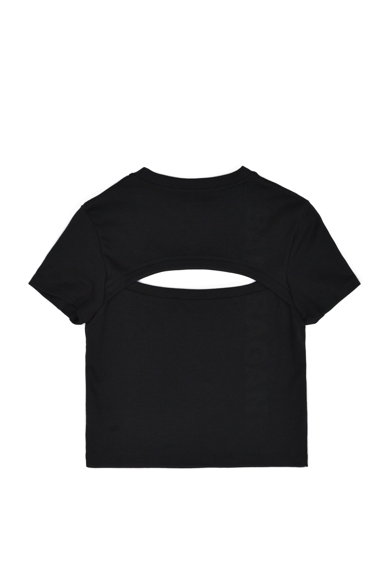 Barragán Cut-Out Logo Tee, Black