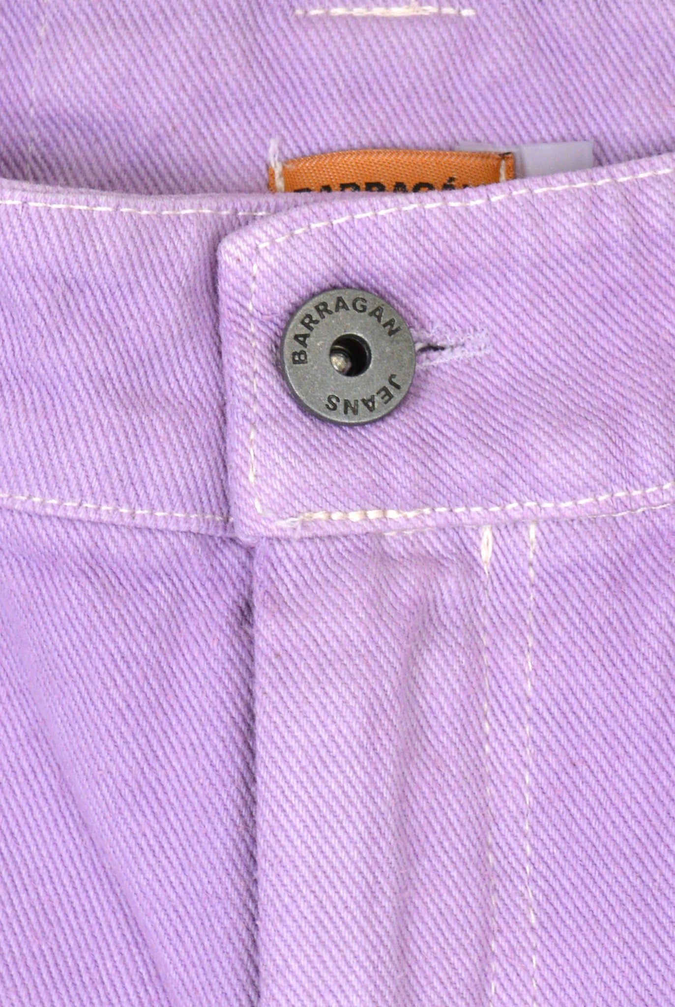 Barragán Deconstructed Pocket Jeans, Lilac