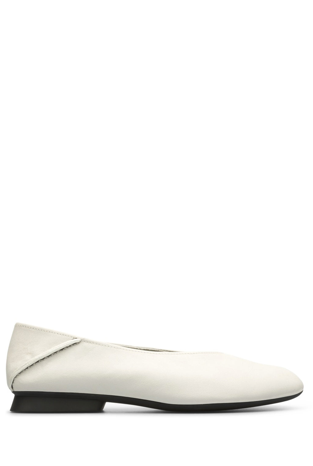 Camper Myra Ballet Shoes, Ivory
