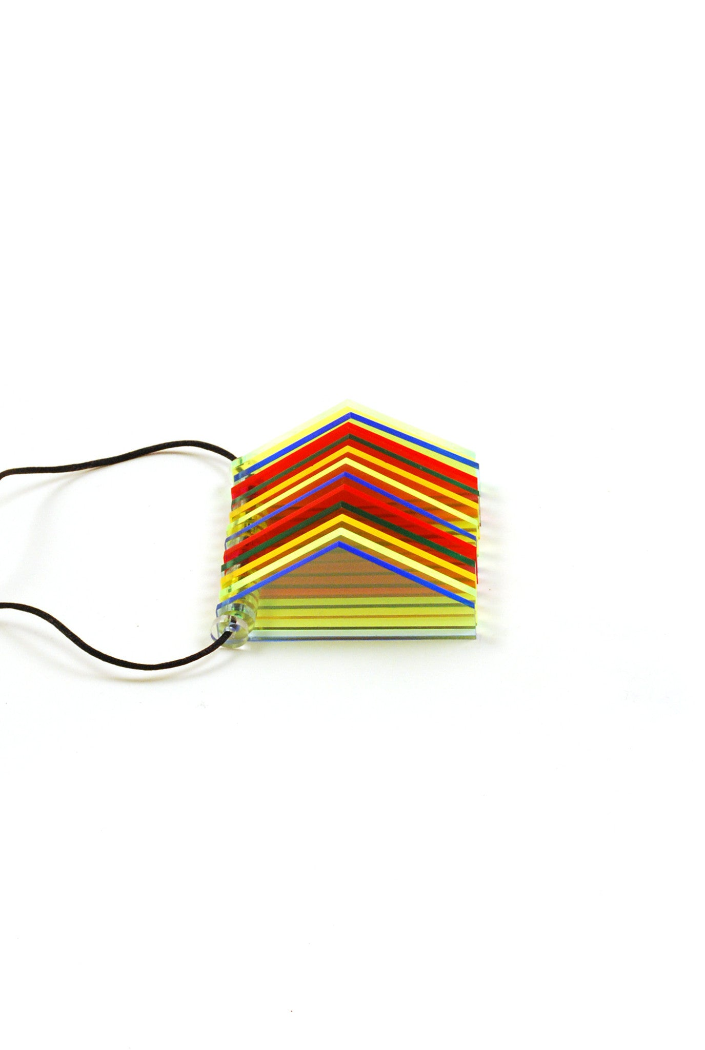 Rainbow Triangle Necklace, Coco's Frosting Shack