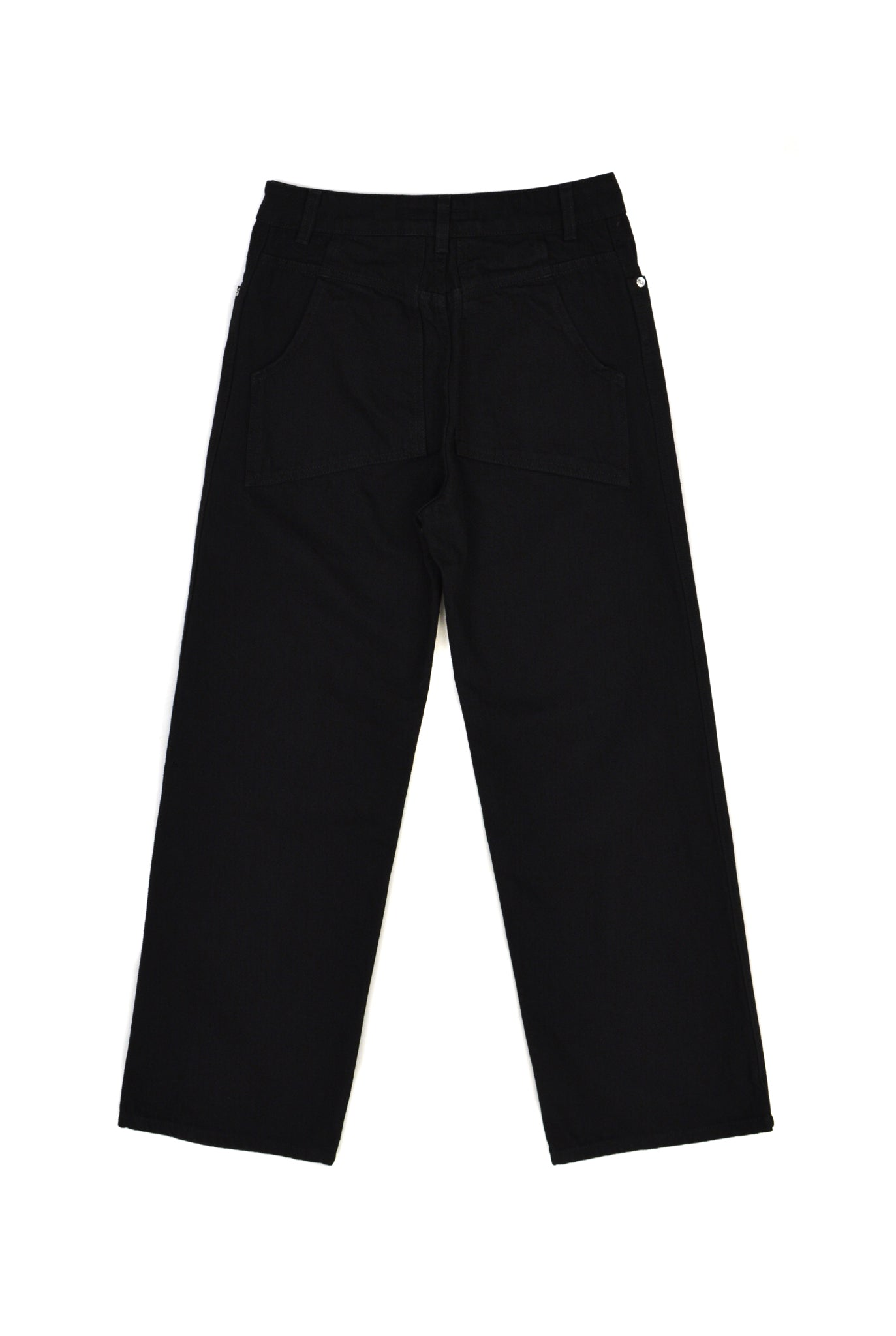 Eckhaus Latta Wide Leg Jean, Black