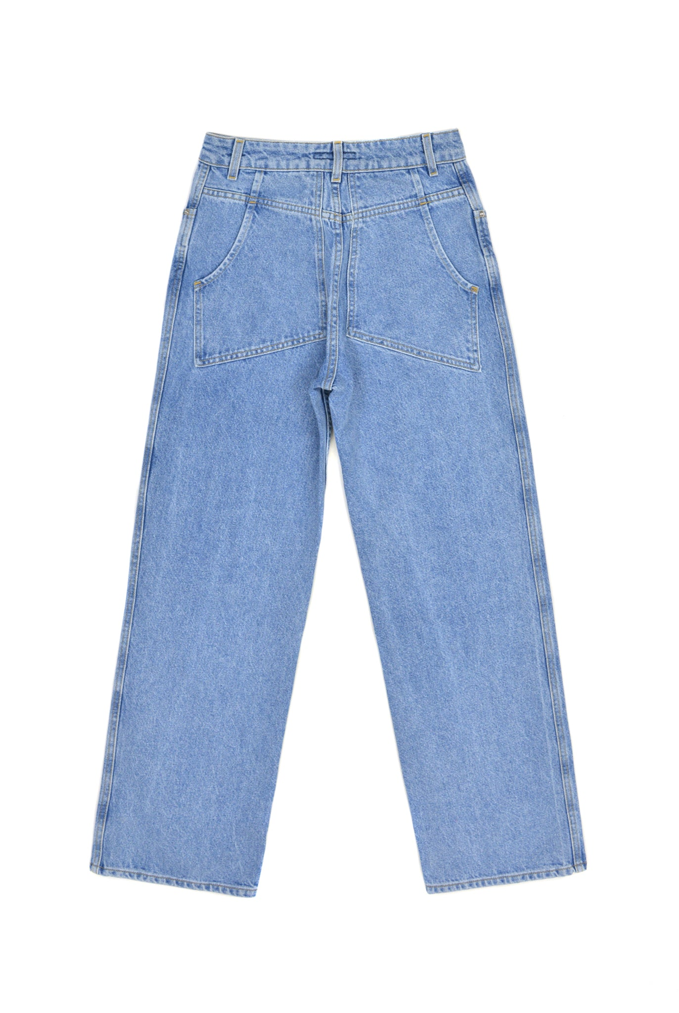 Eckhaus Latta Wide Leg Jean, Blue
