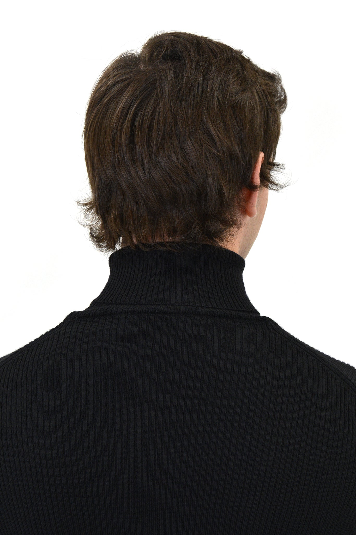 Ernest W. Baker Ribbed Turtleneck