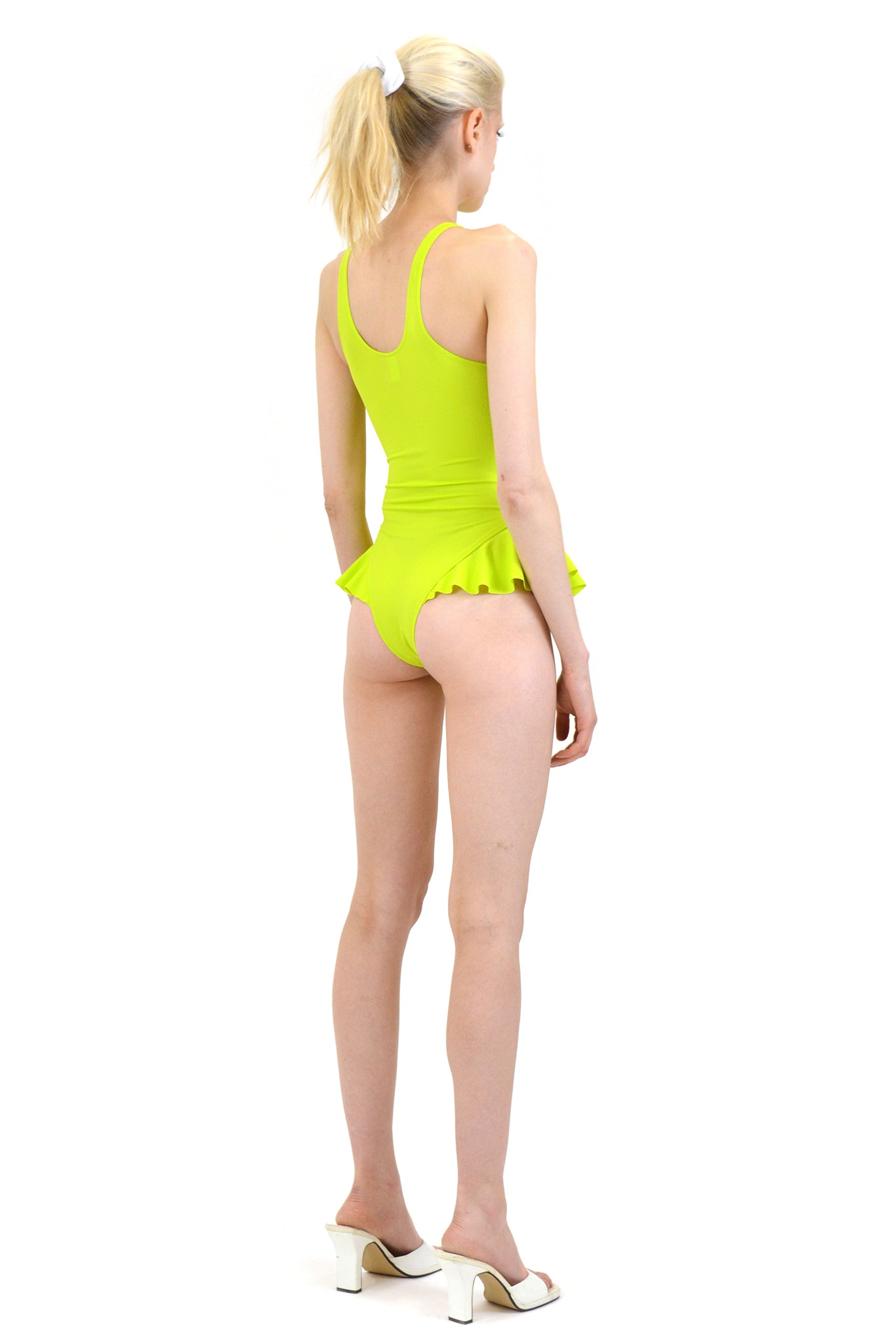 Fantabody Erika Swimsuit, Acid Green