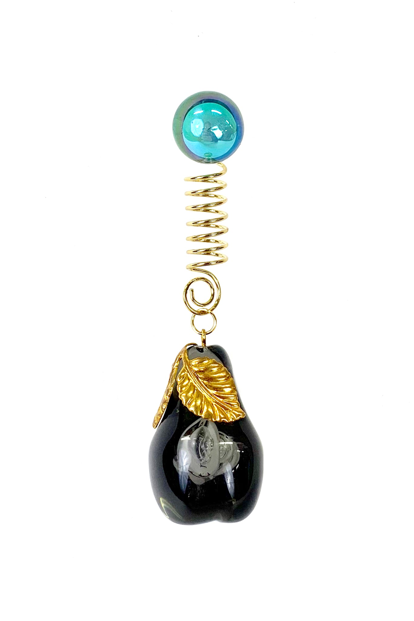 Florence Tétier for Neith Nyer Pear Earring, Black