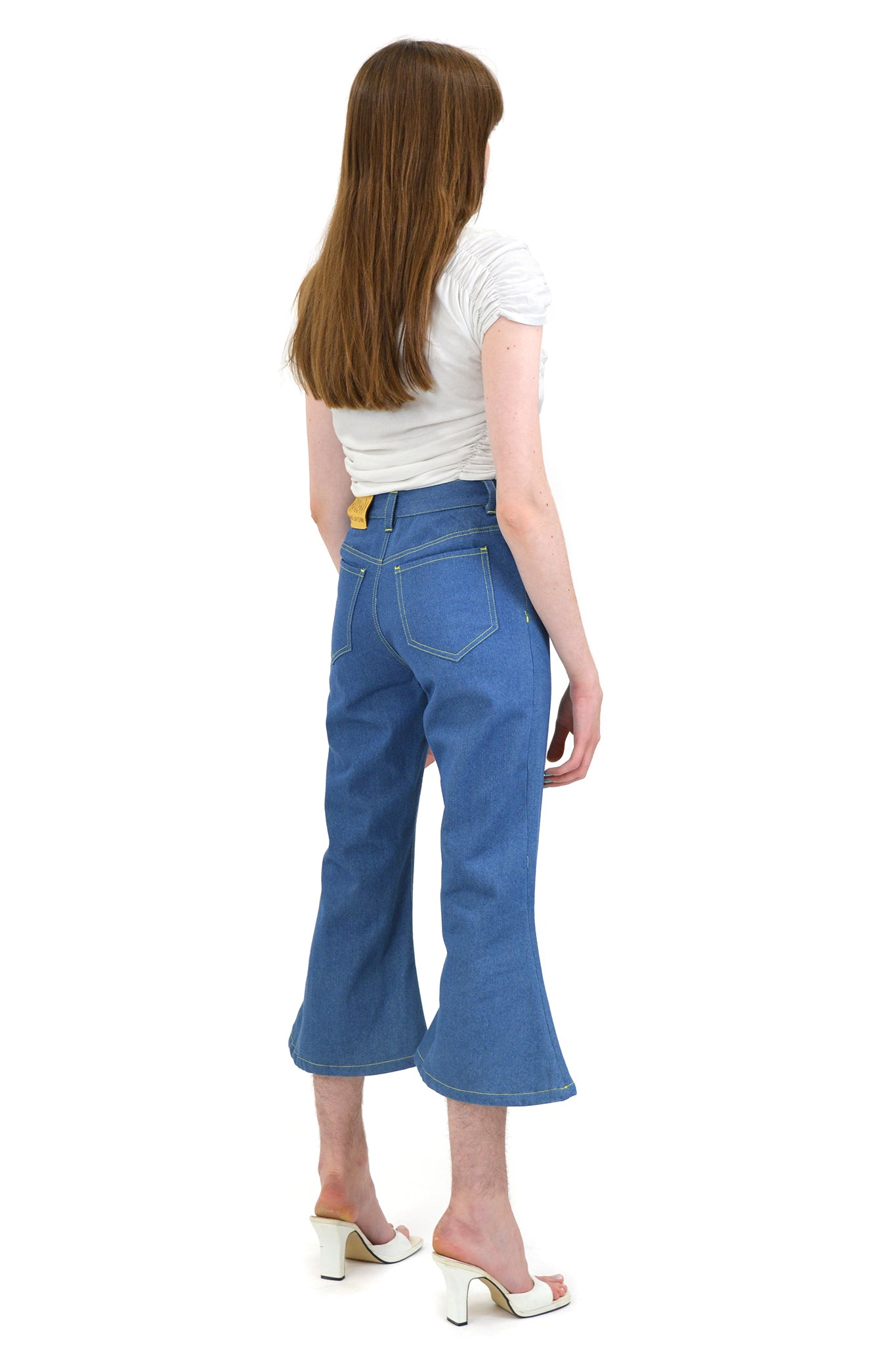 Hardeman Cropped Jeanious Jeans, Blue