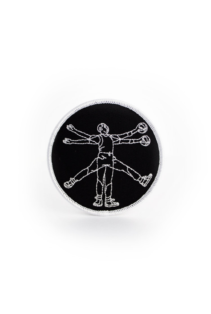 Just Visiting Vitruvian Jumpman Patch
