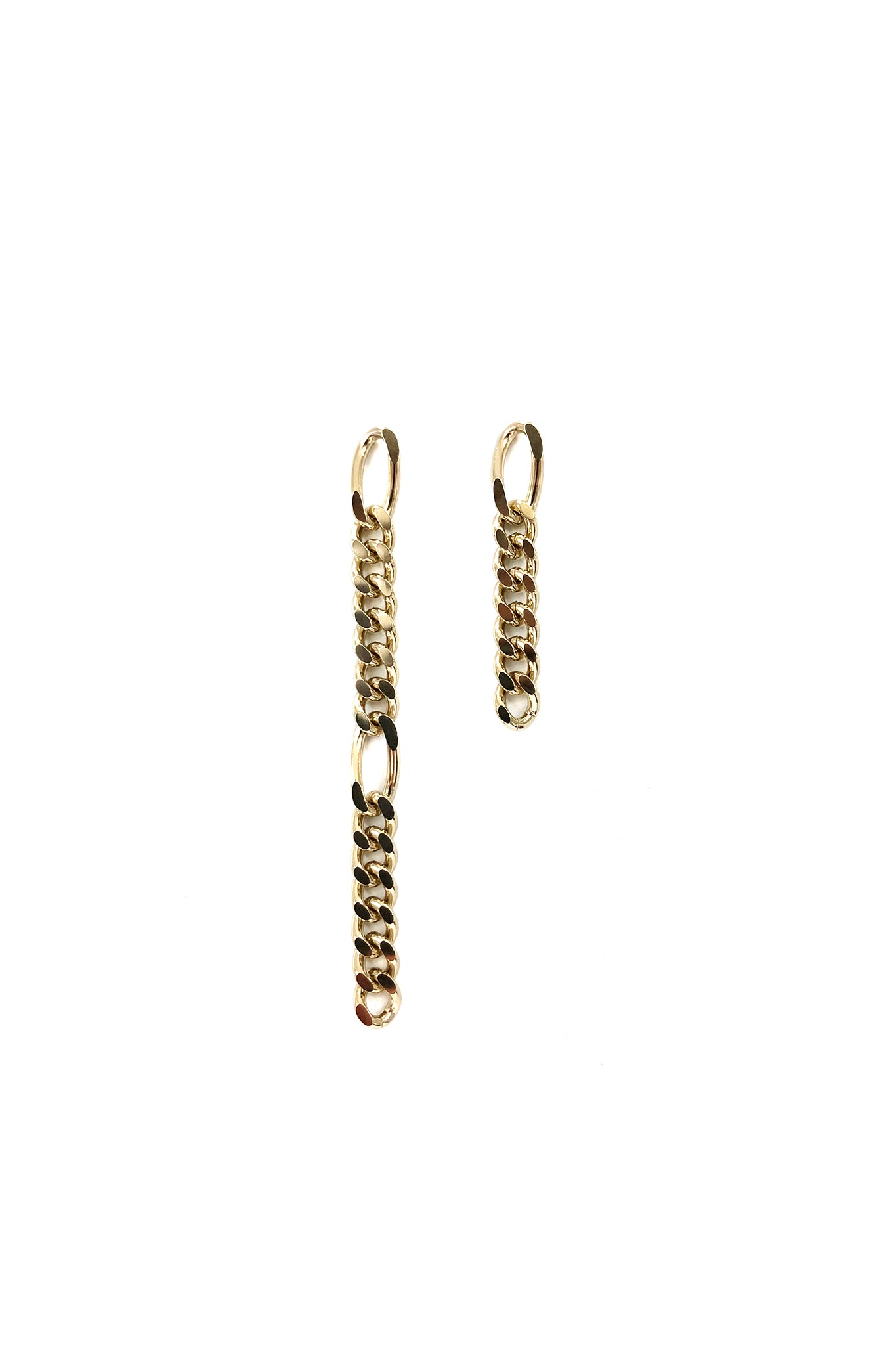 Justine Clenquet Kim Earrings, Gold