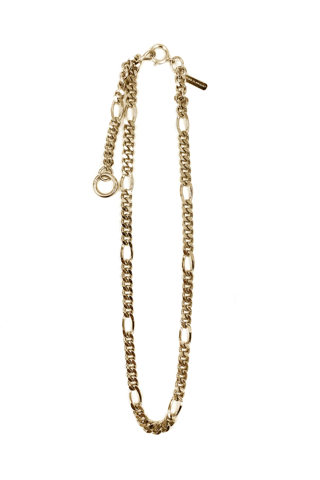 Justine Clenquet Kim Necklace, Gold
