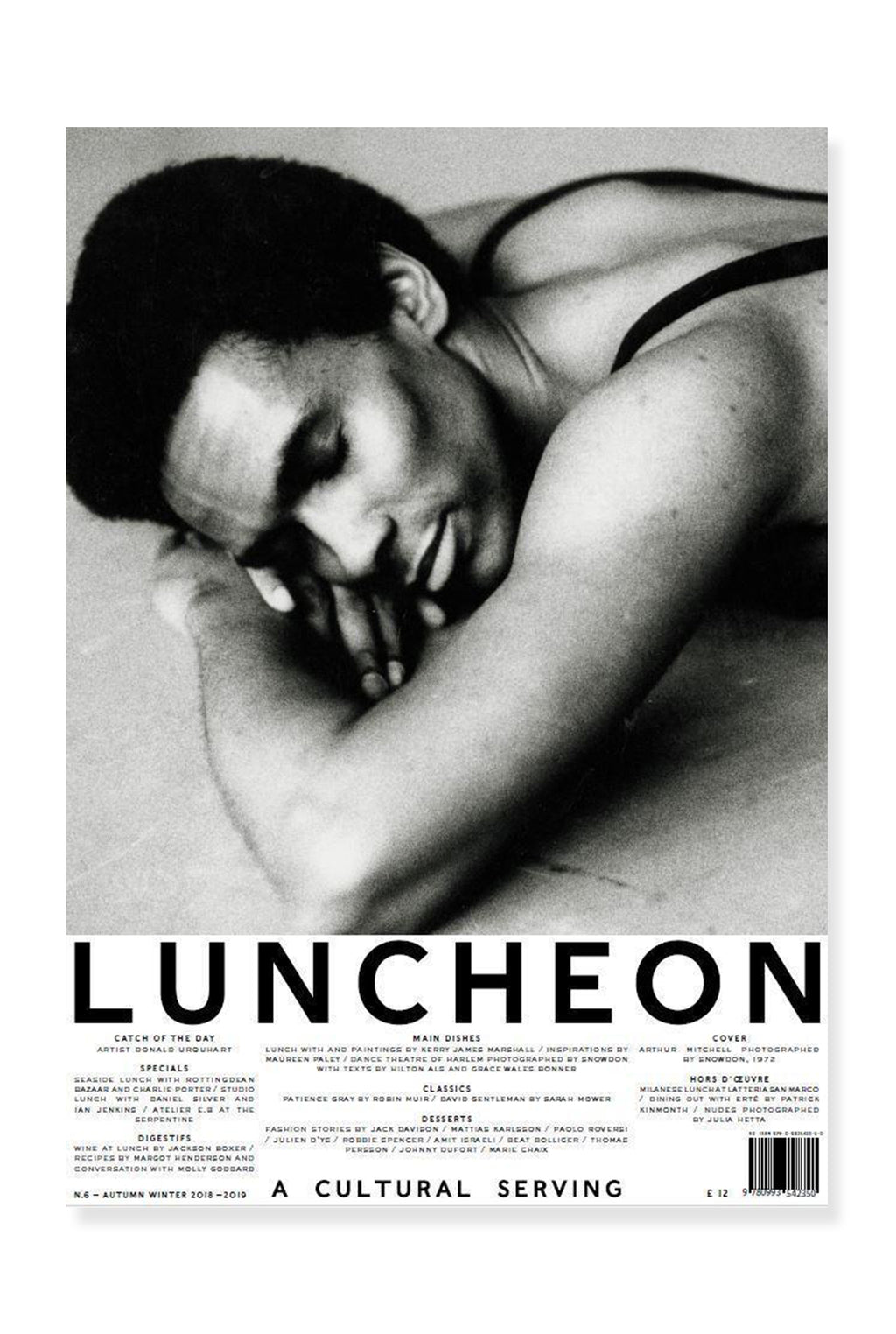 Luncheon Magazine, Issue 6