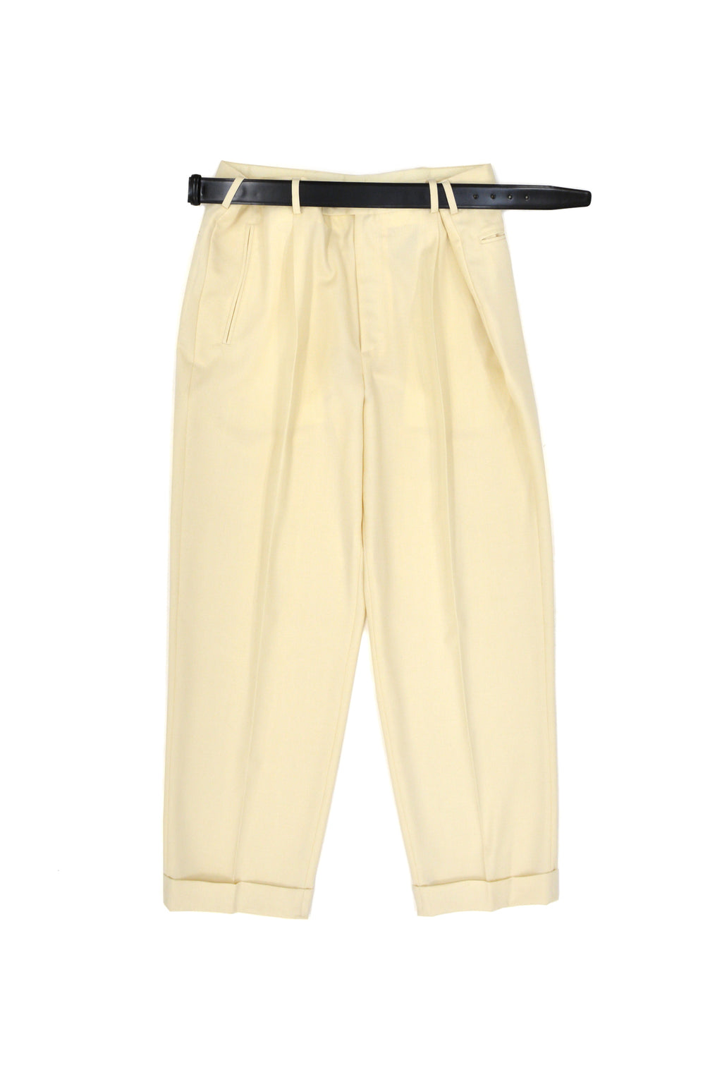Magliano Super Pence Belt Trousers, Ivory