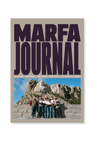 Marfa Journal, #5