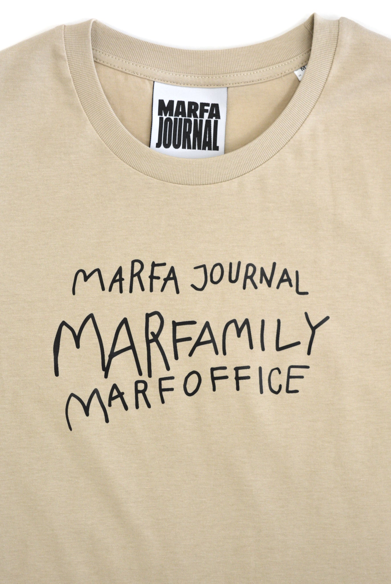 Marfa Journal Tee, Beige