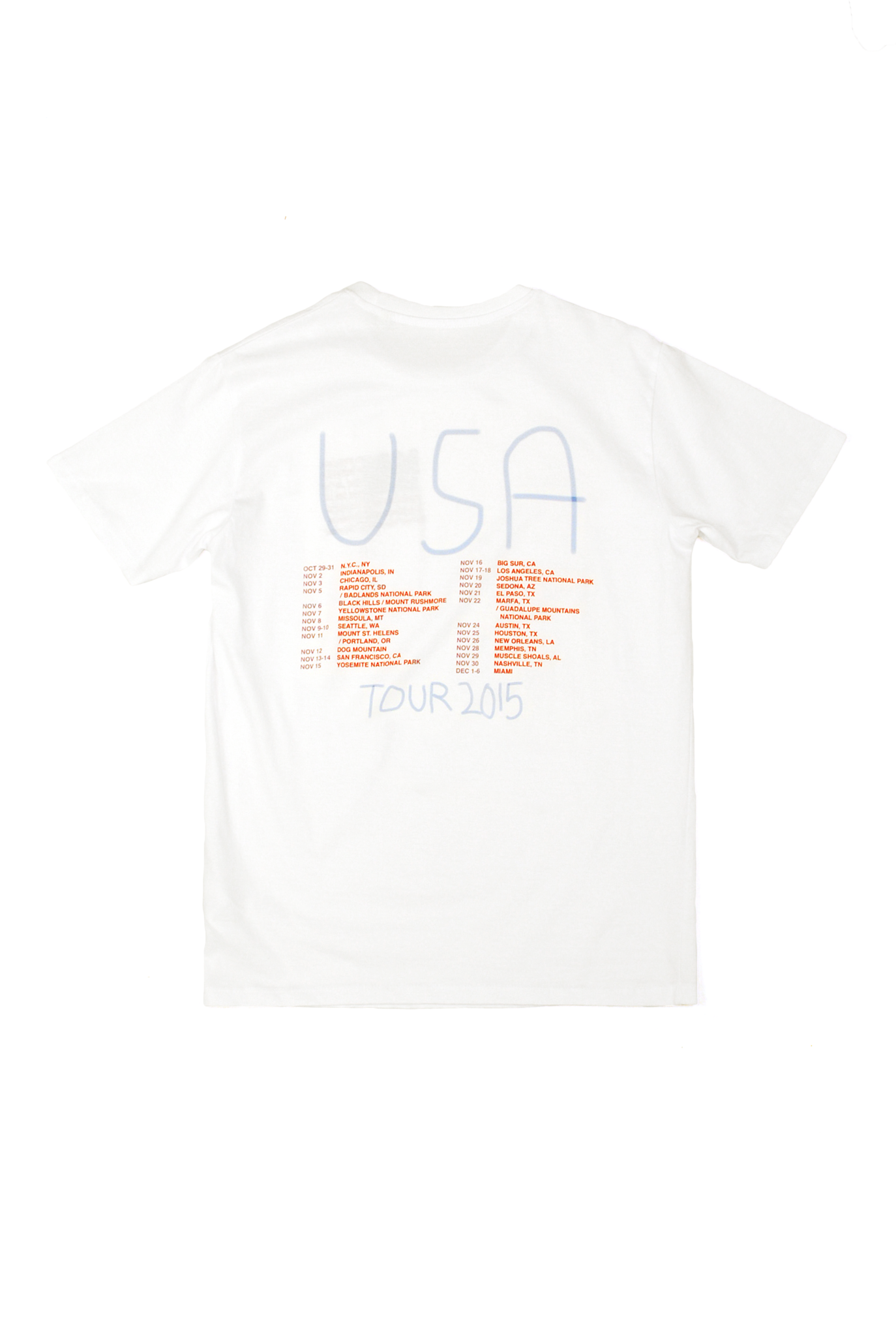 Marfa Journal Tour T-shirt #3